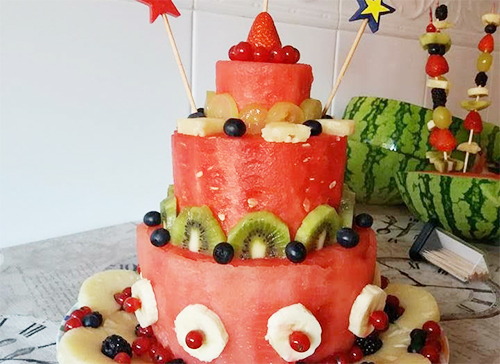 Retete tort cu fructe pentru copii
