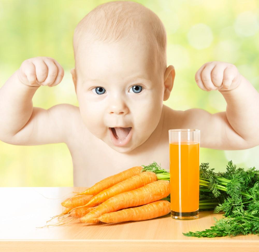 Morcovul in alimentatia bebelusului