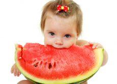 Pepenele rosu in alimentatia bebelusului