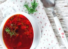 supa cu sfecla rosie