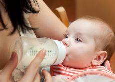 Alimentatia mixta - cu lapte matern si lapte praf