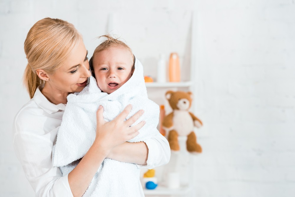 Realizeaza corect igiena intima la bebelusi