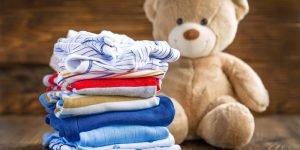 calcarea hainelor bebelusului