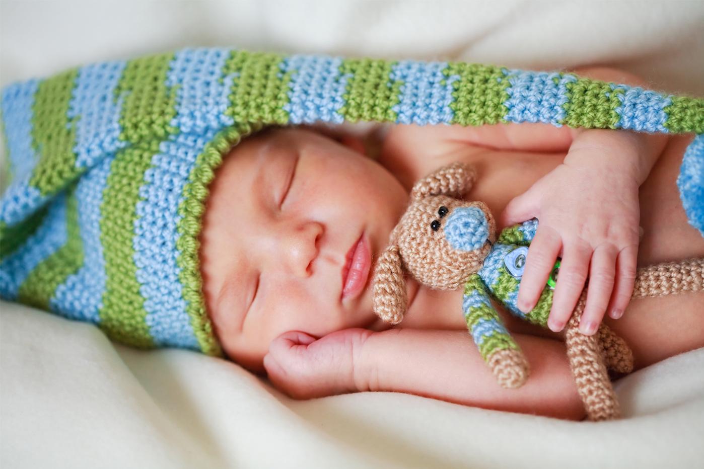 cand bebelusii dorm