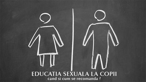 Educatia sexuala la gradinita