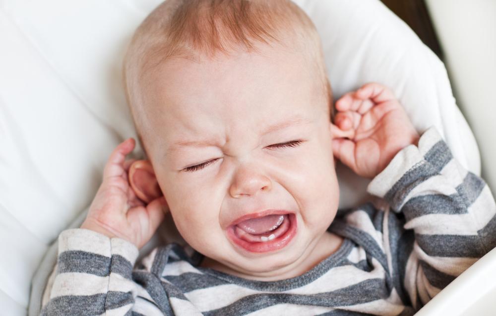 INTERZIS când bebelușul plânge