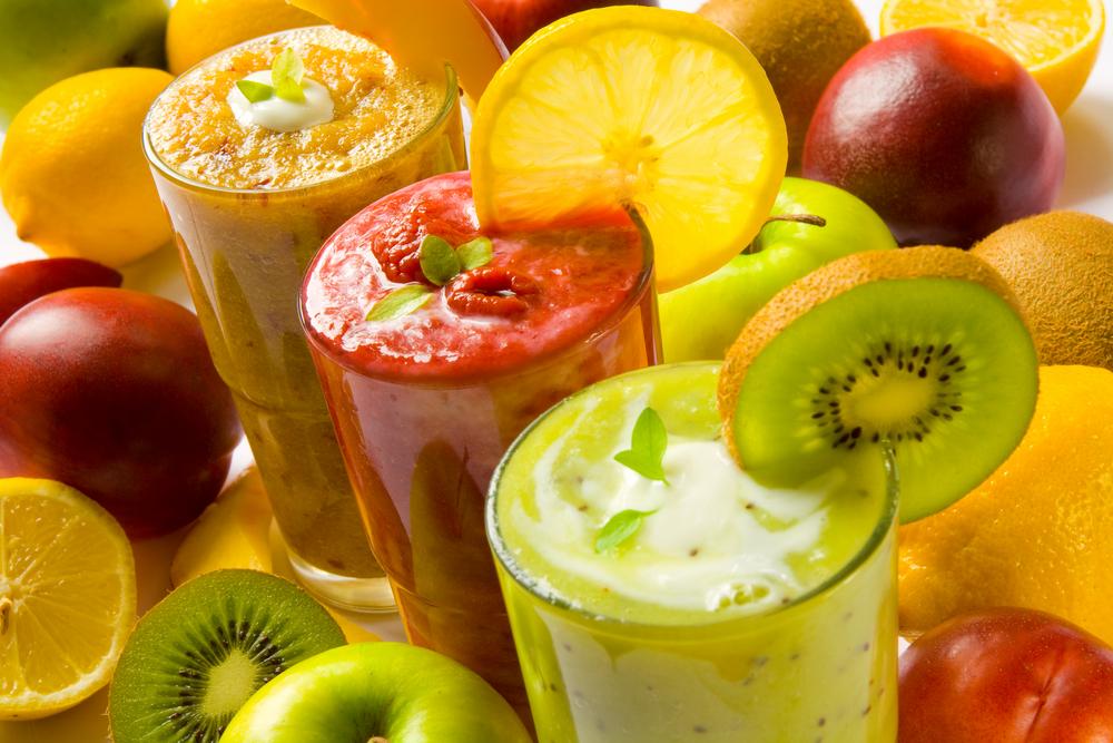 Sucul proaspăt de fructe si legume la copii