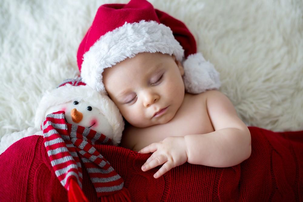 primul Crăciun cu bebe