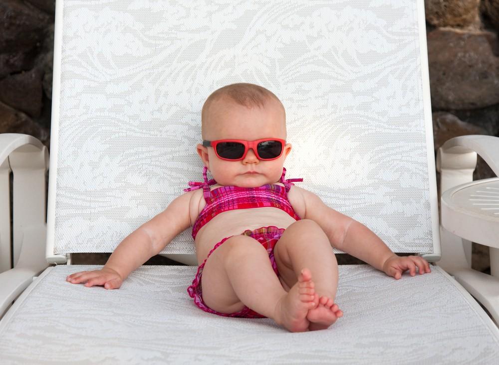 Efectele căldurii asupra copiilor mici