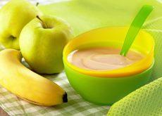 piure din mere si banana