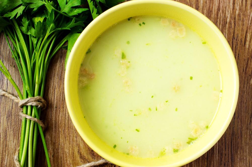 Supa de galuste de la 7-8 luni