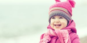 copii afara iarna