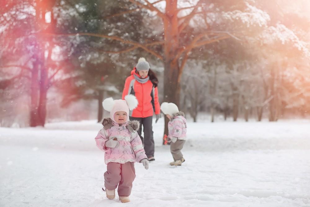 iarna afara cu copii