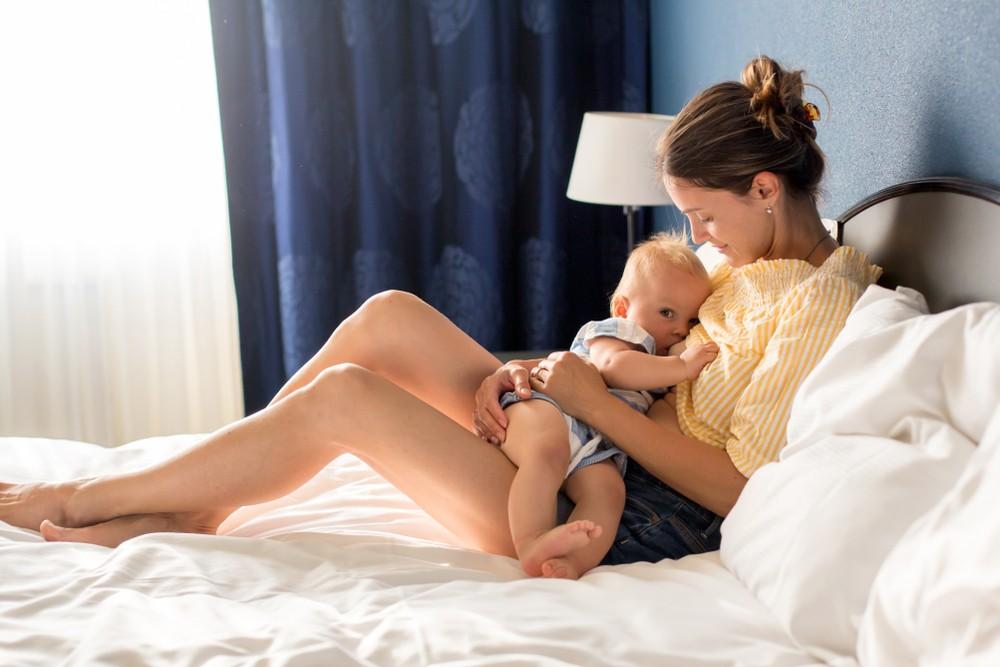 Cum pierd mamele noi în greutate, Scaderea in greutate dupa nastere