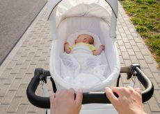 plimbarea bebelusului vara