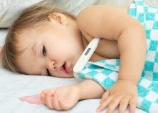 cum se scade febra repede la copii