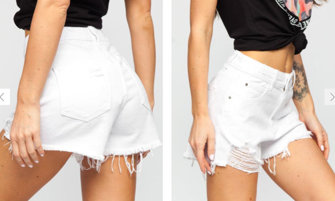 pantaloni-scurti-bolf-albi
